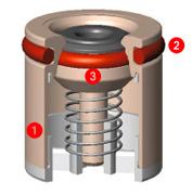Design eines Rückflussverhinderers von Neoperl Haustechnik-Wissen