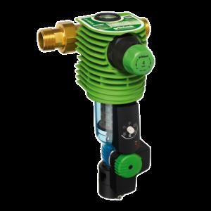 Darstellung eines Automatik Wasserfilter für Trinkwasser im Hausanschluss Haustechnik-Wissen