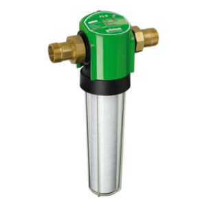 Darstellung eines nicht rückspülbaren Wasserfilter für Trinkwasser im Hausanschluss Haustechnik-Wissen