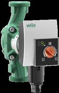 Darstellung einer Hocheffizienzpumpe/Umwälzpumpe von Wilo, Haustechnik-Wissen