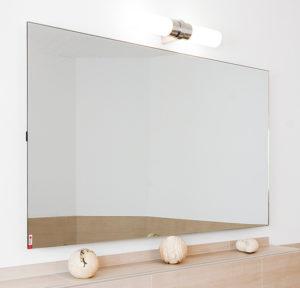 Darstellung einer Spiegel Infrarotheizung, Haustechnik-Wissen